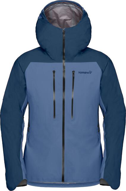 Norrona Norrona Lyngen Gore Tex Men's Ski Jacket Indigo Night Blue
